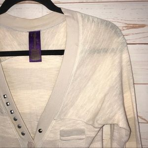 Free People Tops - Free People Button Embellished Henley Shirt